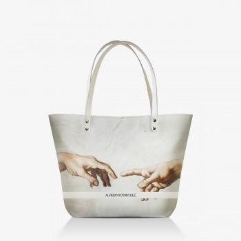 Shopper Bianca La Creazione