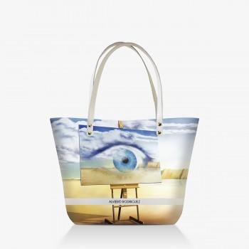 Shopper Bianca Eye Dalì