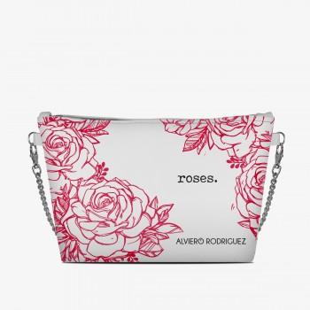Diva Bag Bianca Roses