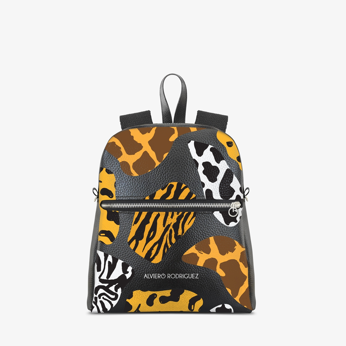 Zaino Zip Ecopelle Fashion