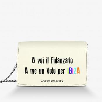 Borsa Bianca A Voi Il Fidanzato..