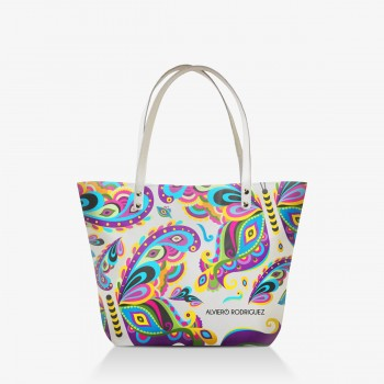 Shopper Bianca Colorful Butterfly