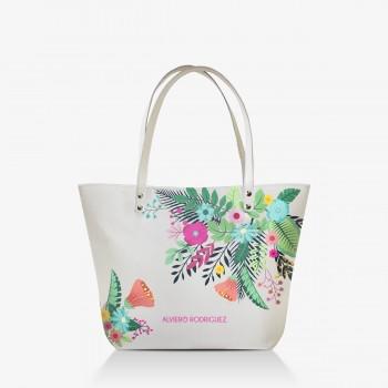Shopper Bianca Flowers