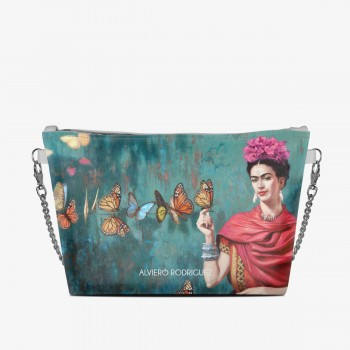 DIVA BAG BIANCA FRIDA BUTTERFLY