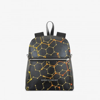Zaino Zip Ecopelle Molecules