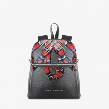 Zaino Zip Ecopelle Serpenti
