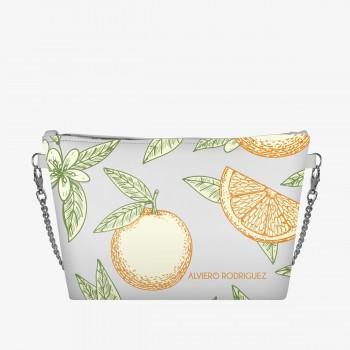 Diva Bag Bianca Oranges