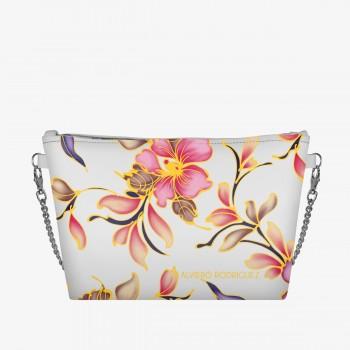 Diva Bag Bianca Flower