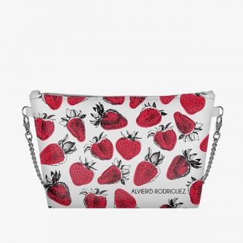 Diva Bag Bianca Strawberries