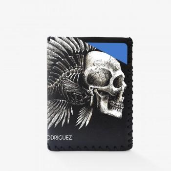 Porta Carte Skull Fish