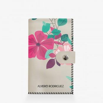 Portafogli Bianco Flower Season