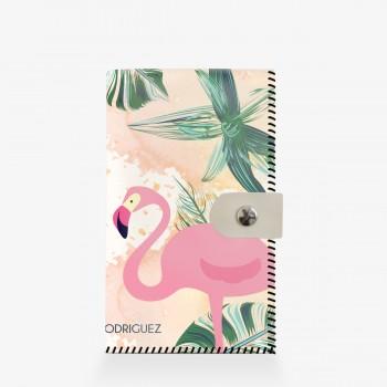Portafogli Bianco Flamingo
