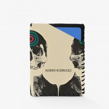 Porta Carte Skull Target