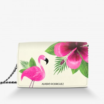 Borsa Bianca Tropical Pink