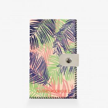 Portafogli bianco Color Palm