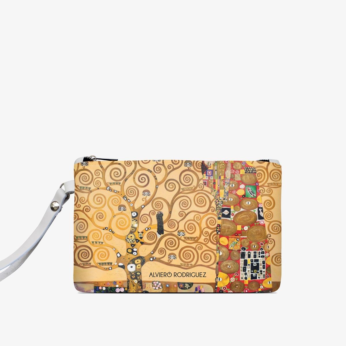 negozio online 791c8 a075e Pochette Bianca Albero Della Vita