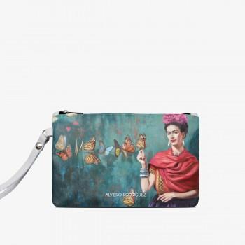 Pochette Bianca Frida Butterfly
