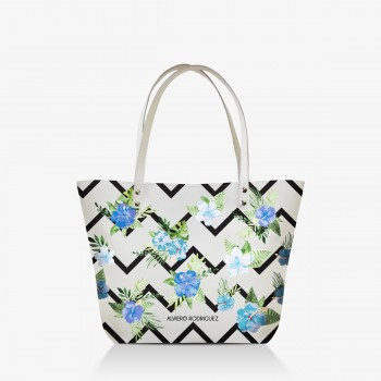 Shopper Bianca Blue Life