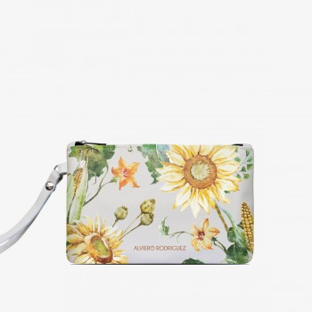 Pochette Bianca Sunflowers