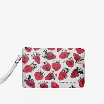 Pochette Bianca Strawberries