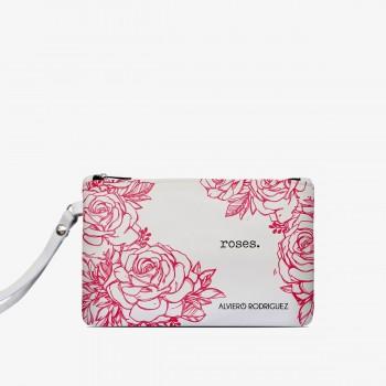 Pochette Bianca Roses