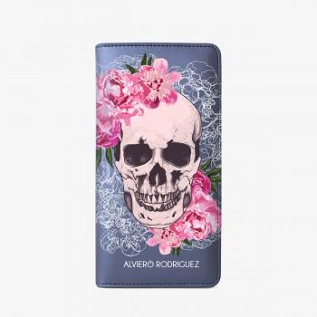 SmartCase Blu Skull Roses