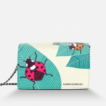 Borsa Bianca Ladybug
