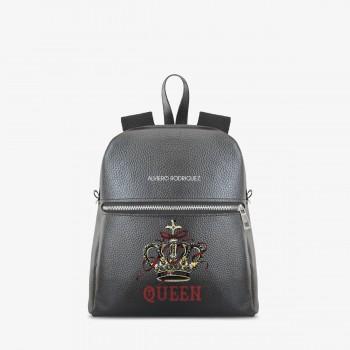 Zaino Zip Ecopelle Queen Crown