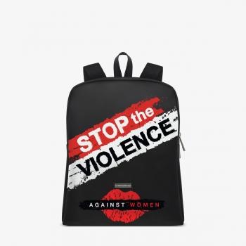 efbdd79c78 Zaino Wave Nero Stop the Violence