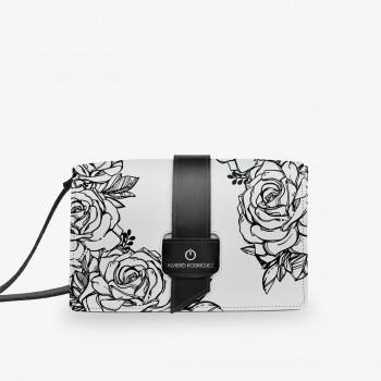 Nicla Bag Patta Bianca Roses