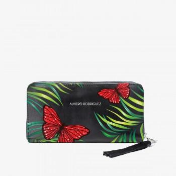Portafoglio Zippy Red Butterfly