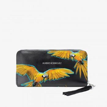 Portafoglio Zippy Yellow Parrots