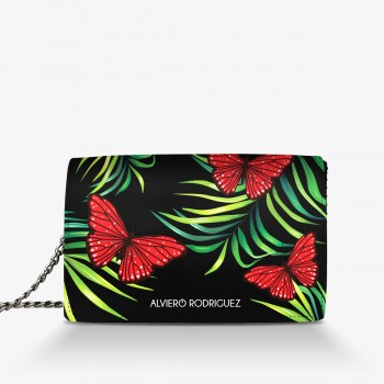 Borsa Red Butterfly