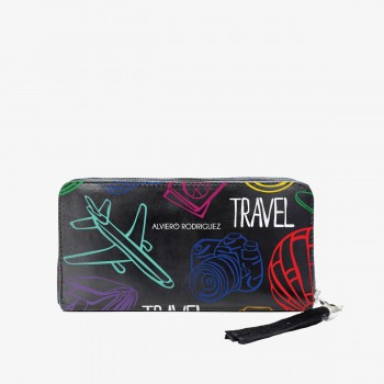 Portafogli Zippy Colorful Travel