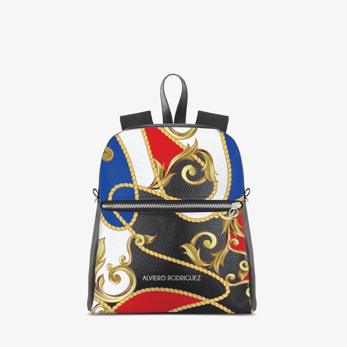 Zaino Zip Ecopelle Royal Colors
