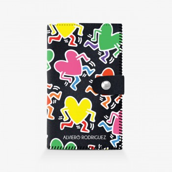 Portafogli Haring Hearts