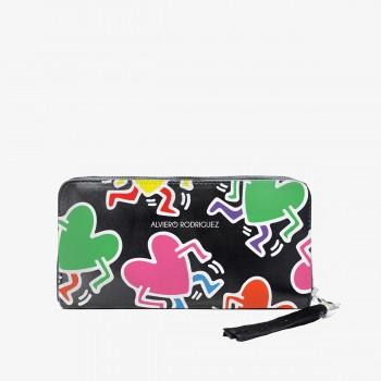 Portafogli Zippy Haring Hearts