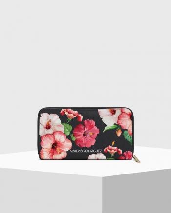Zip Saffiano Holiday wallet