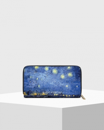 Starry Night Saffiano Zip...