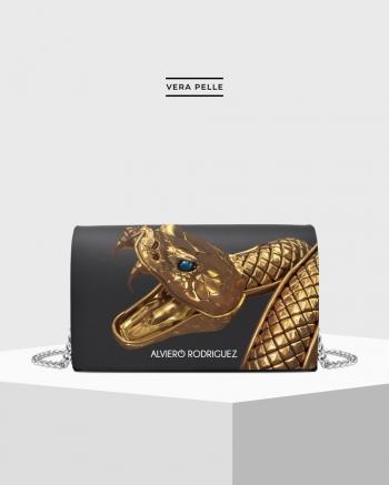 Gold Snake bag