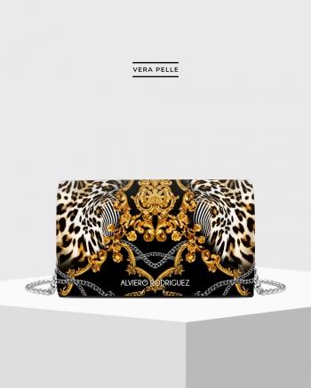 Baroque leopard bag