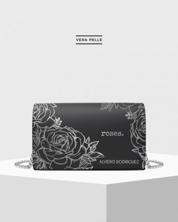 Silver Roses bag