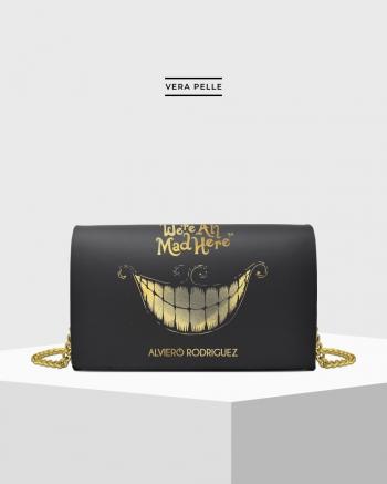 Gold Cheshire Cat Bag