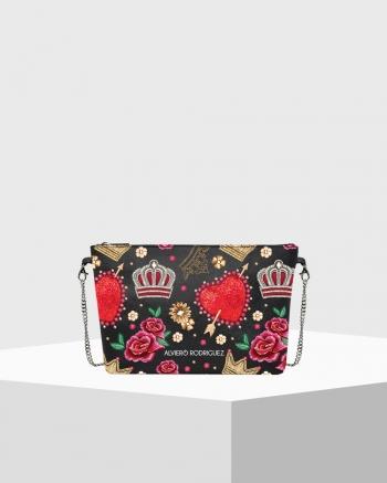 Diva Bag Saffiano Royal Love