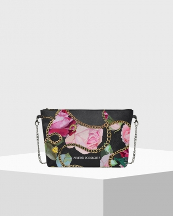 DIVA BAG CHAINED ROSE
