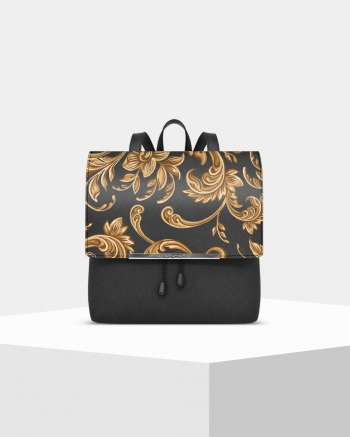Lux Saffiano Barocco backpack