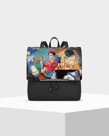 Lux Saffiano Artistic backpack
