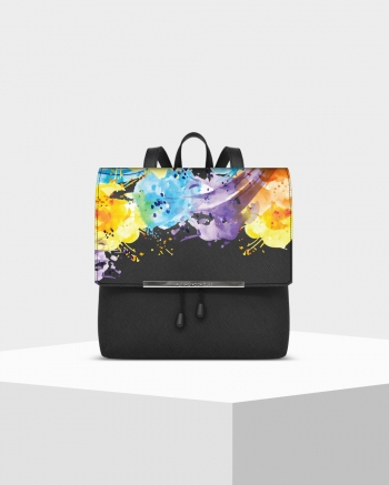 Lux Saffiano Colorart backpack