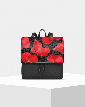 Lux Saffiano Poppy backpack
