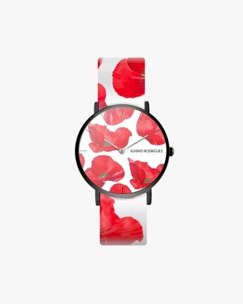 Poppy White Watch